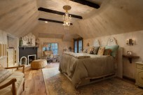One of the bedrooms. Not the Master Bedroom