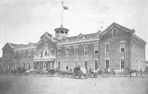 The Horton House Hotel, circa 1870.