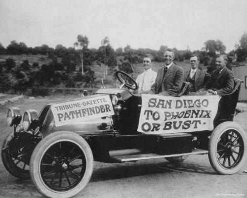 14689 Franklin Model E Touring - c. 1913