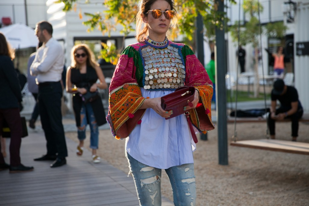 The best street style at Fashion Forward Dubai     Sand In The City fashion forward dubai