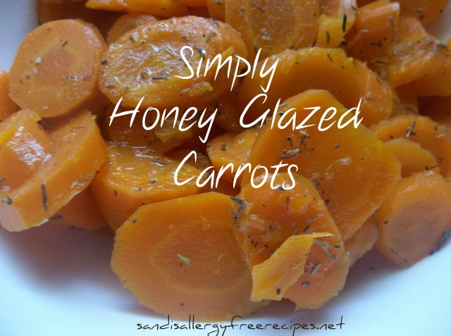 Simpy Honey Glazed Carrots