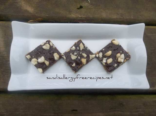 Salted Cashew Chewy Bars 3