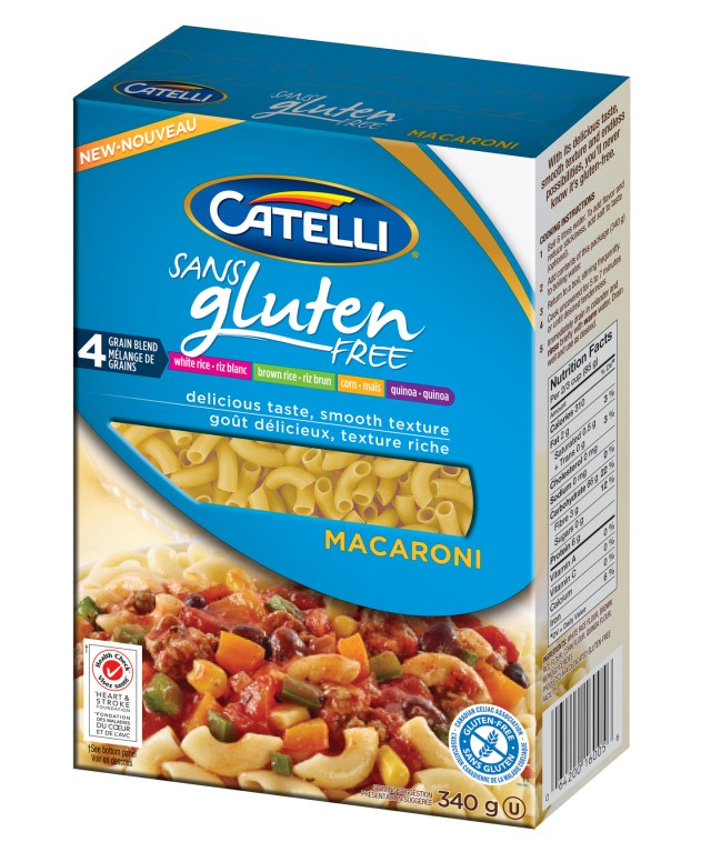 Catelli Gluten Free Macaroni low res