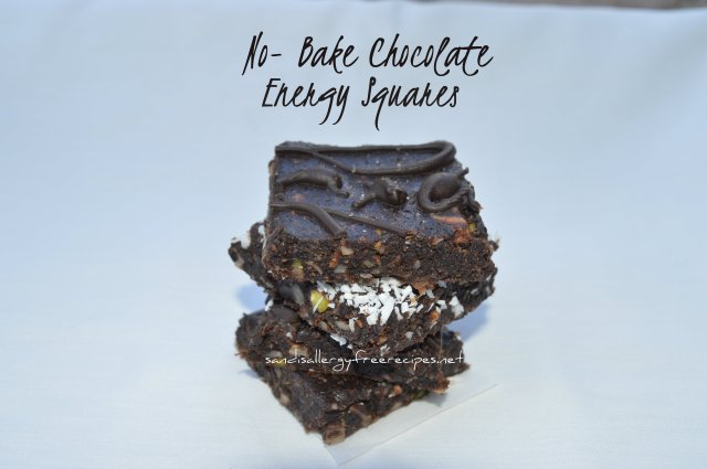No-Bake Chocolate Energy Squares