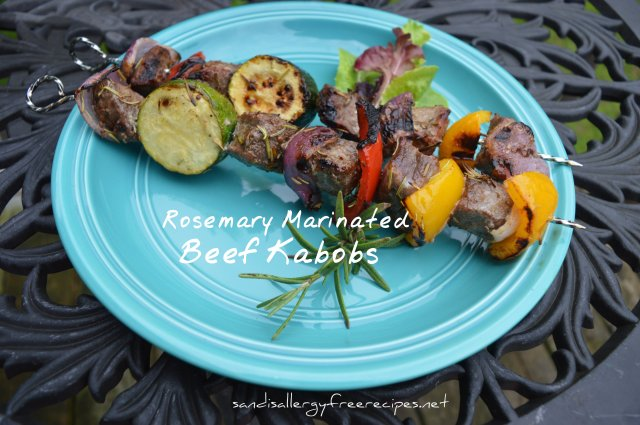 Rosemary Marinated BeefKabobs