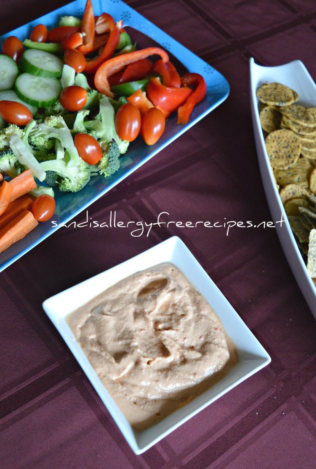 Raw Cashew Pepper Dip