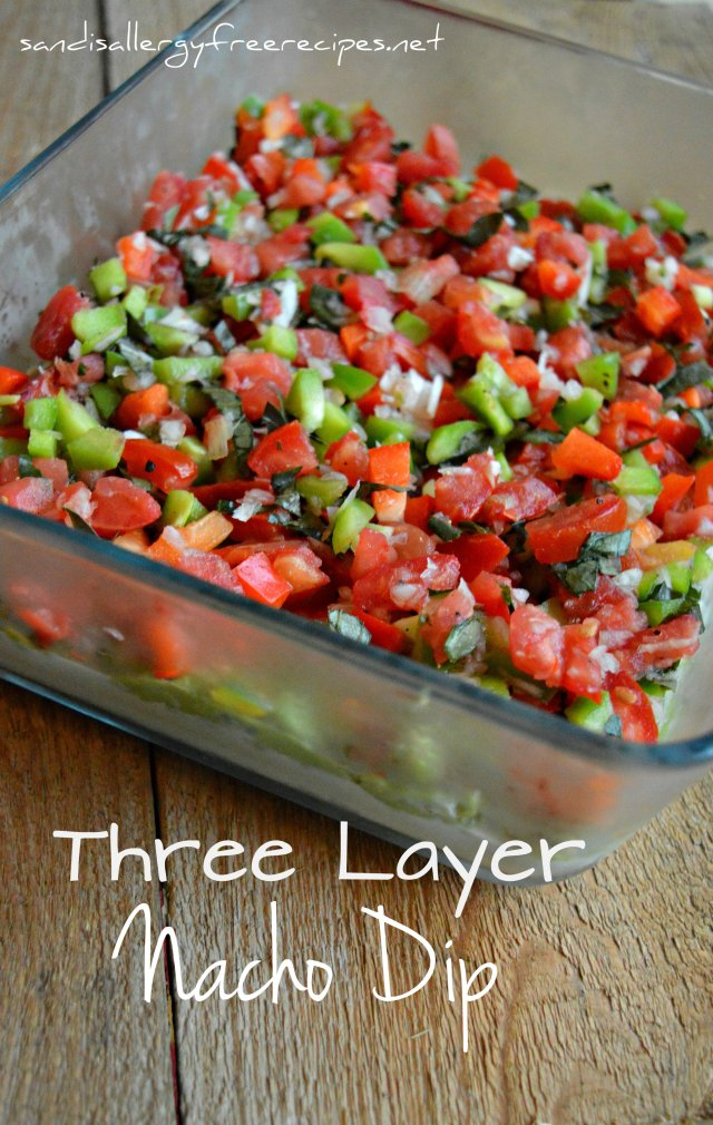 Three Layer Nacho Dip