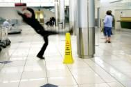 man slipping - Slip and fall injury accident north dakota - sand law