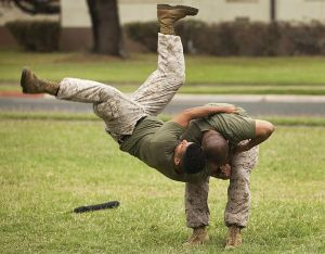 US Military teaches martial arts to recruits