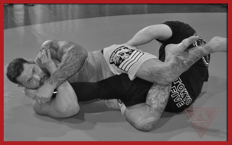 BJJ Practitioners Doing Leg Locks