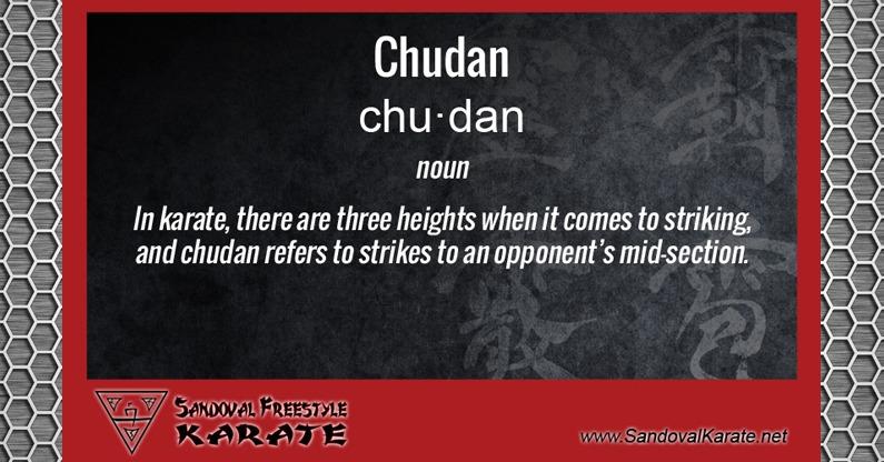 Chudan Definition