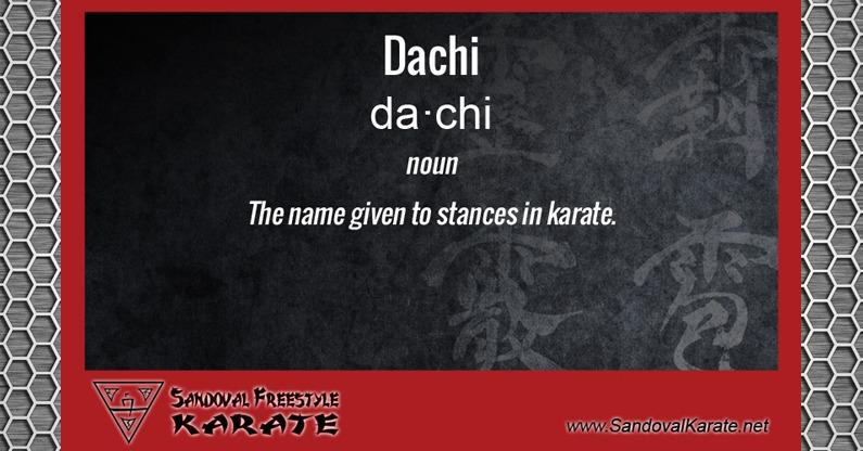 Dachi Definition