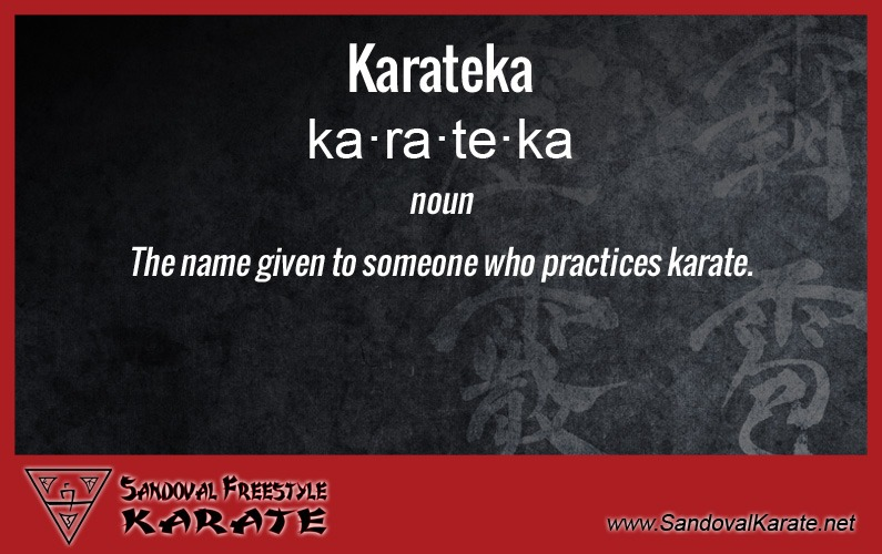 Karateka Definition