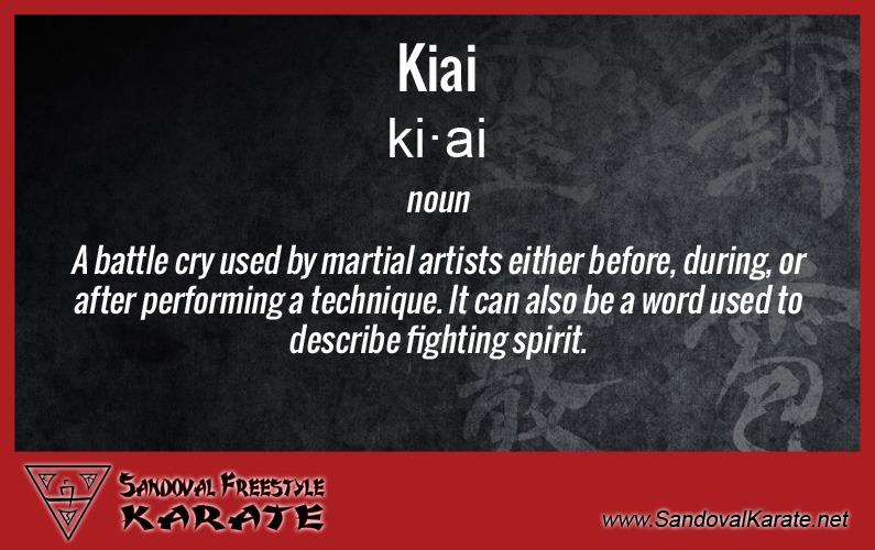 Kiai Definition