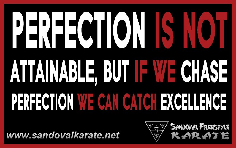 Perfection is Not Attainable