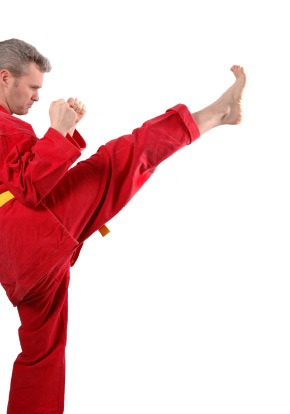 Front Kick, Push Kick Demonstration