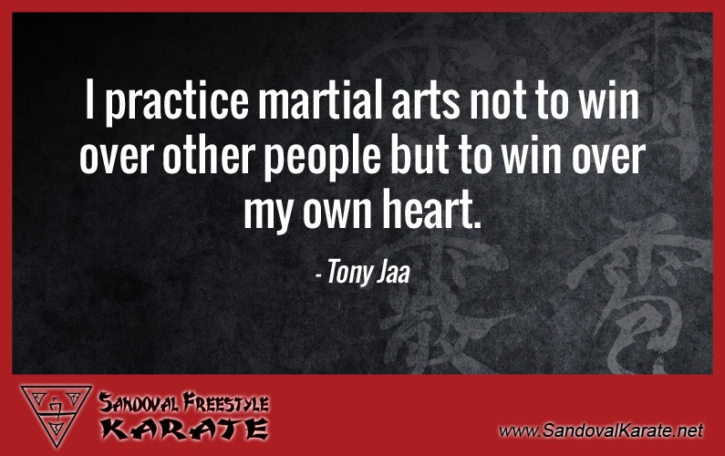 Tony Jaa Martial Arts Quote