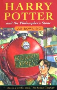 Harry Potter and the Philosopher's Stone by JK Rowling 13-6-14