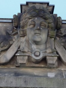 stone face - Reichstag Berlin 5-9-13