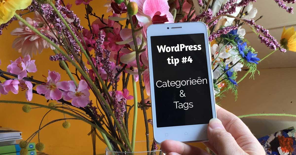Hoe gebruik je categorieën en tags?