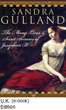 The Many Lives & Secret Sorrows of Josephine B. - U.K. Cover