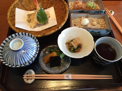 A Japanese meal.