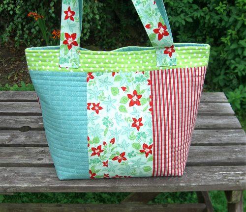 Back of Apple Bag