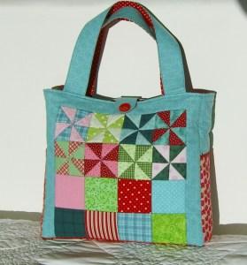 Pinwheel Bag Front