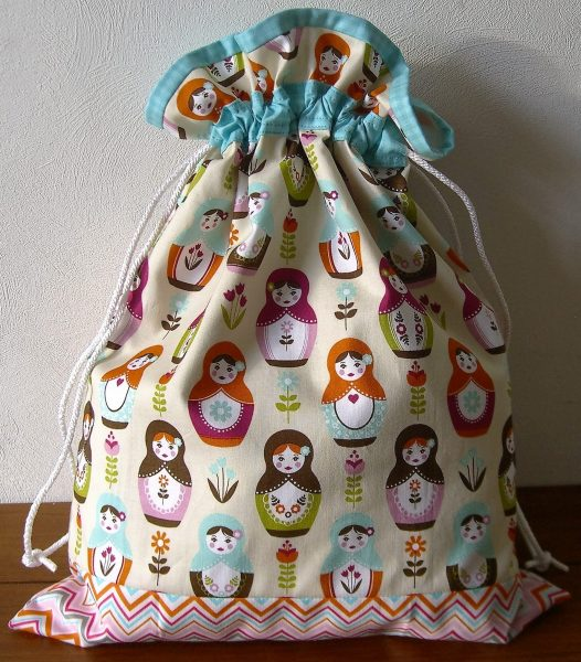 free drawstring bag pattern