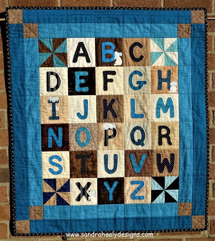 Sandra Healy Designs Alphabet Quilt