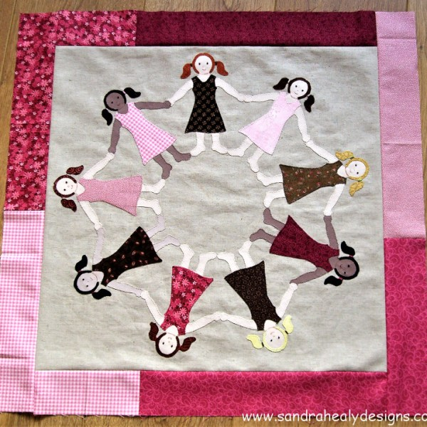 Sandra Healy Designs Cushion Top