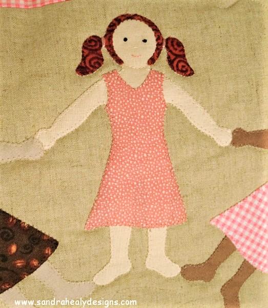 Sandra Healy Designs Rose Spot Girl