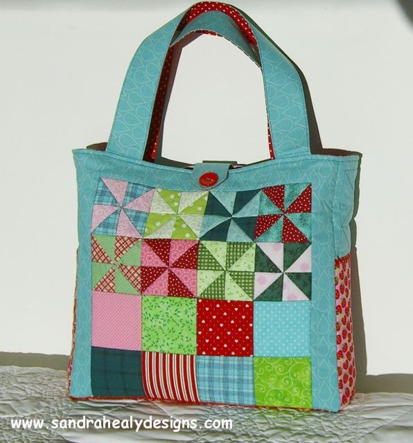 Sandra Healy Designs Pinwheel Bag
