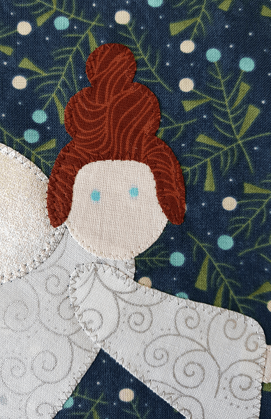 Sandra Healy Designs 'I Wish You a Merry QAL' Angel Face