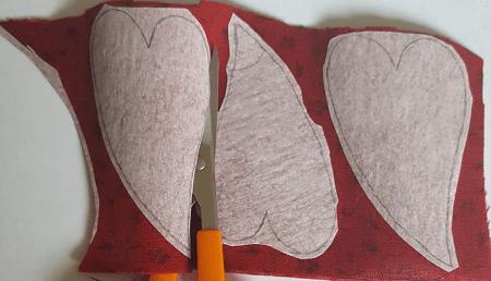 Sandra Healy Designs How to Machine Appliqué Fused Pieces