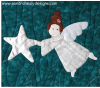 Sandra Healy Designs Christmas Angel Wall Hanging Second Angel