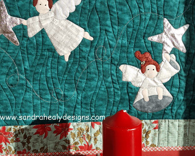 Sandra Healy Designs Christmas Angel Wall Hanging