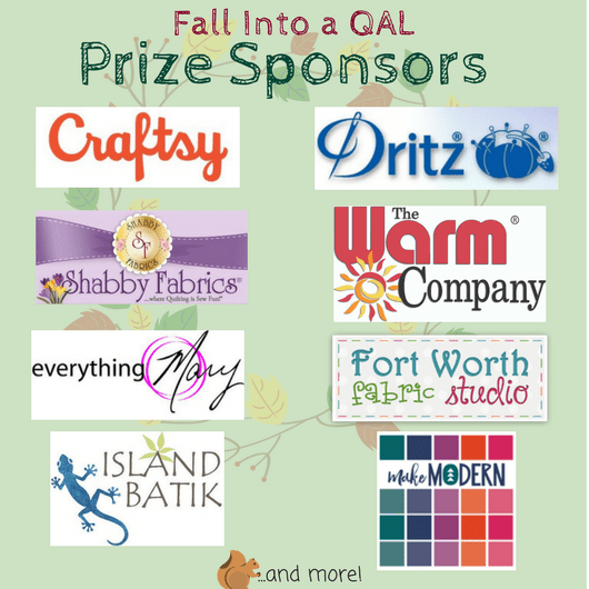 Sandra Healy Designs Fall Into A Quiltalong Prize Graphic
