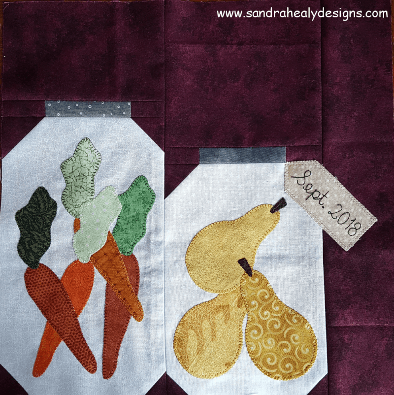 Sandra Healy Designs, 'Fall Into a Quiltalong', Block 10