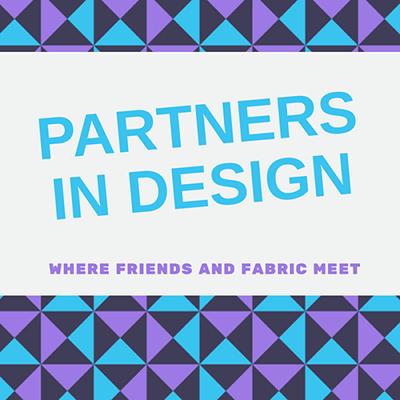 Sandra Healy Designs Partners in Design Button