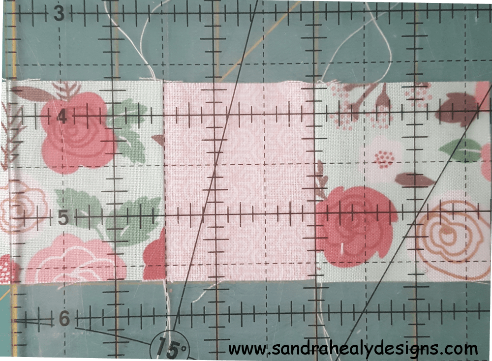 Sandra Healy Designs, How To Test Your Seam Allowance, Measuring Central Block