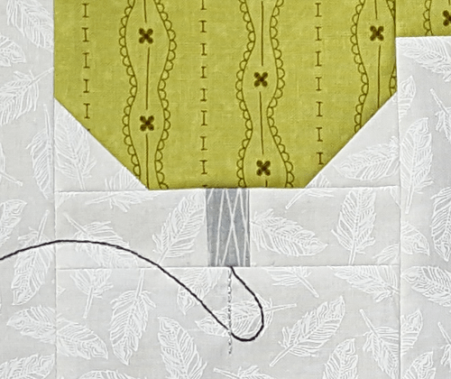 Sandra Healy Designs, Sew Lets QAL, Sewing Machine, Block 1, Needle