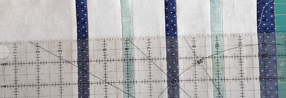 Sandra Healy Designs, Sew Let's QAL, block 3, measuring grip gap unit