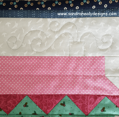 Sandra Healy Designs, Sew Let's quilt along, project ideas, chimney close up