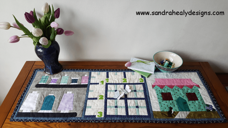 Sandra Healy Designs, Sew Let's quilt along, project ideas, table topper