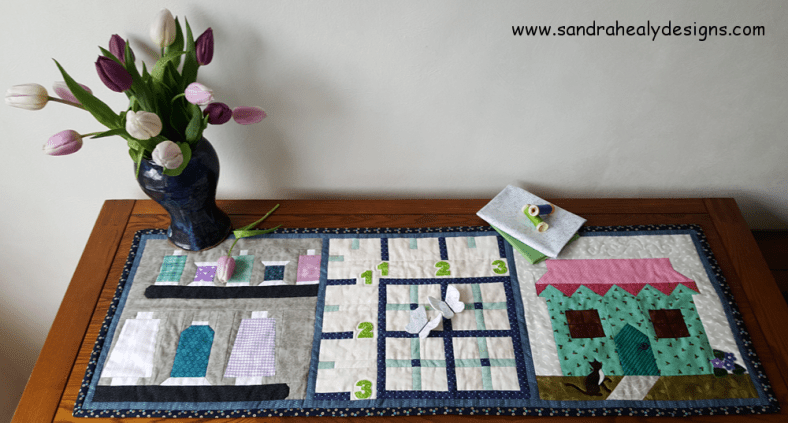 Sandra Healy Designs, Sew Let's quiltalong, project ideas, table topper