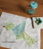 Sandra Healy Designs Left Facing Flying Bird Quilt Block