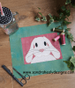 Sandra Healy Designs, 'The Bunny Bunch', lop eared rabbit block