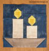 Sandra Healy Designs candle quilt block