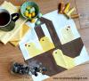 Sandra Healy Designs basket of chicks quilt block pattern
